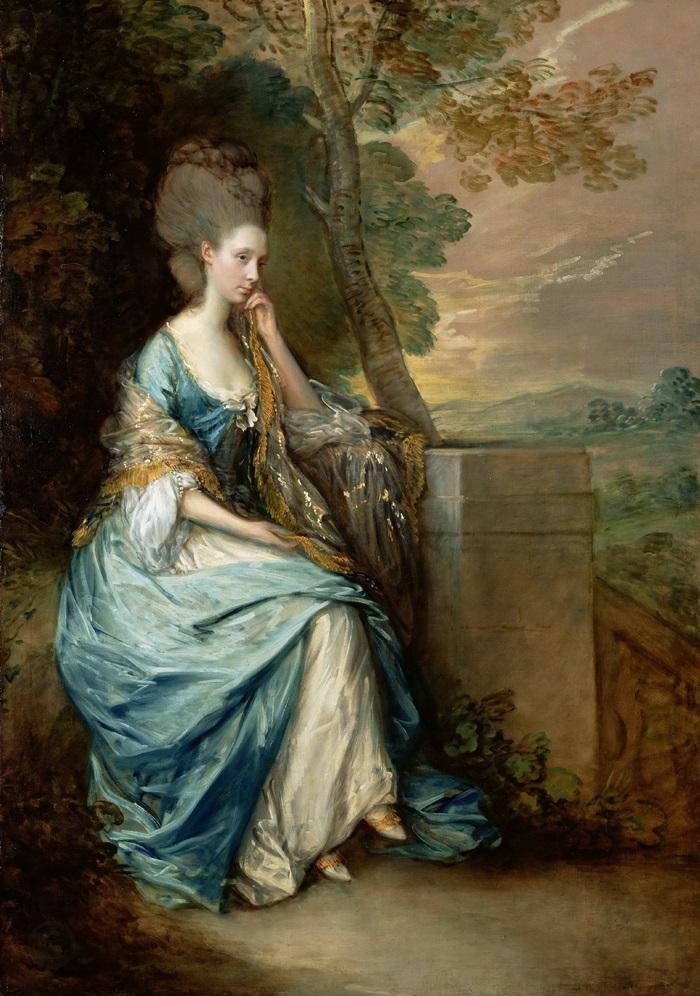 Портрет Анны, графини Честерфилд