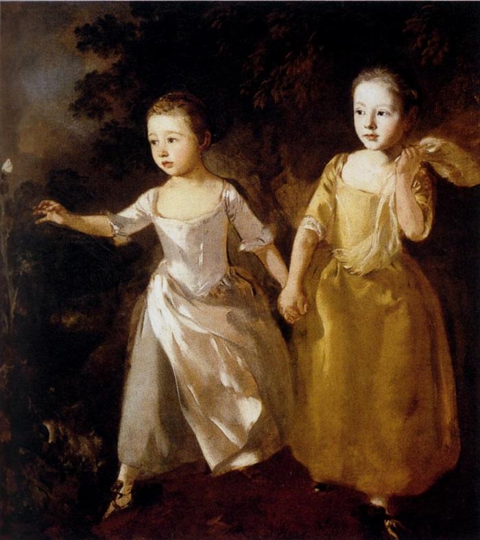 Портрет дочерей художника