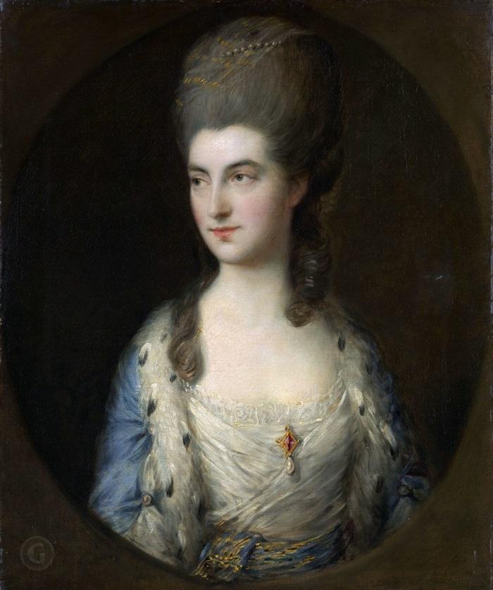 Портрет молодой женщины Мисс Спэрроу