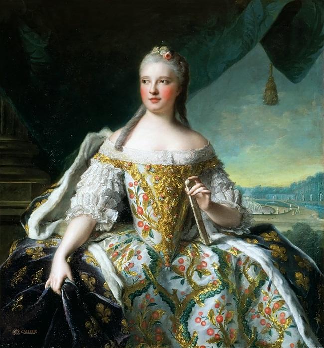 Мария-Жозефа Саксонская, дофина Французская (1727-1752), также известная как Мадам де Франс.