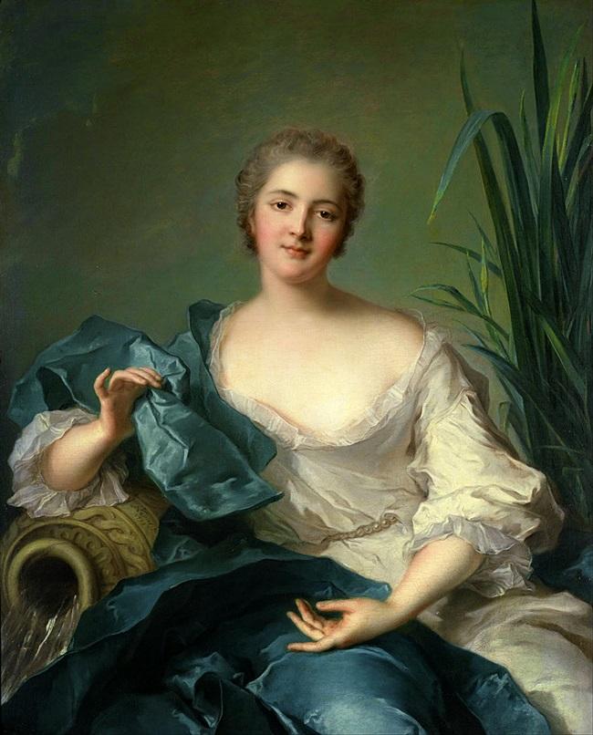 Портрет Marie-Henriette Berthelot de Pleneuf.
