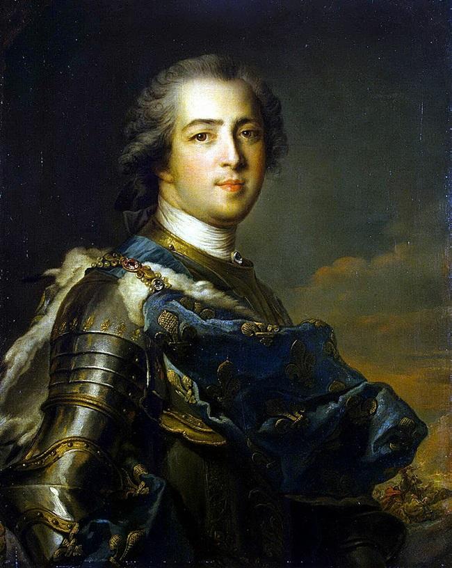 Портрет Людовика XV.