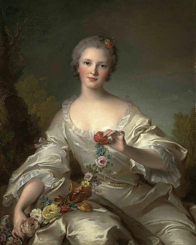 Портрет Маргариты-Франсуаза-Бернар-де-Реймс, мадам Дюпле де Bacquencourt.