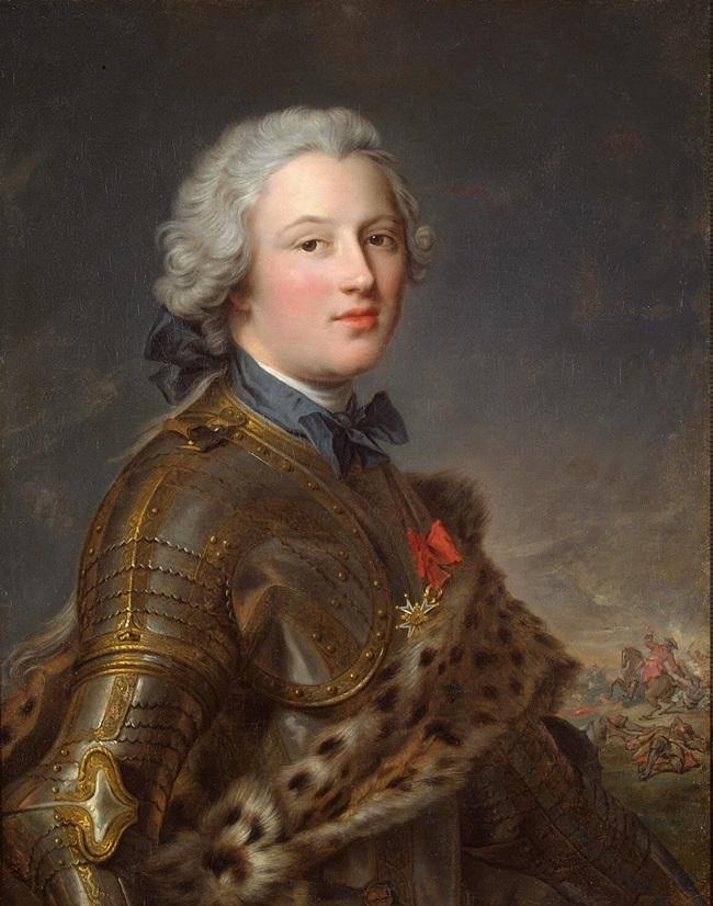 Портрет Пьера Виктора де Безанваля.