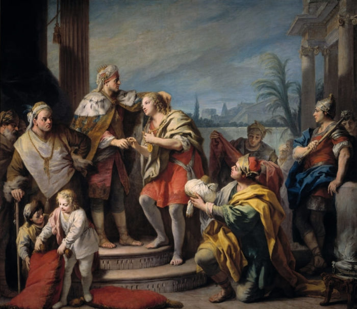 История Иосифа (The Story of Joseph) или Иосиф во дворце фараона.