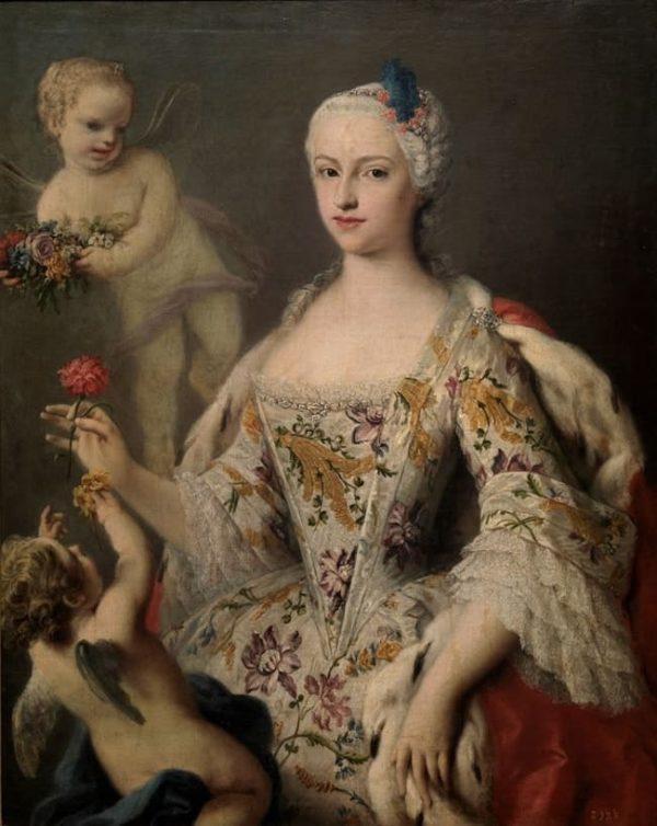 Инфанта Мария Антония Фернанда, дочь Филиппа V.
