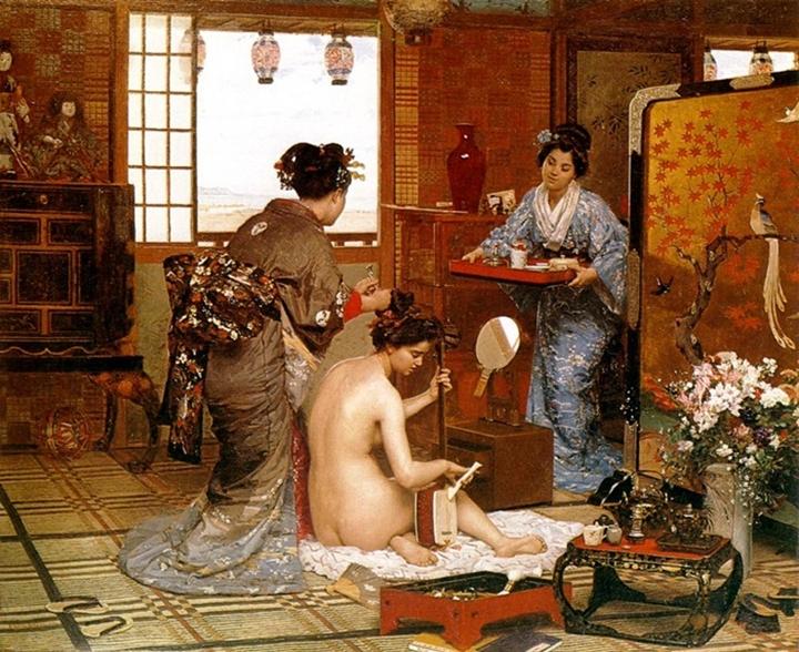 Японский туалет.