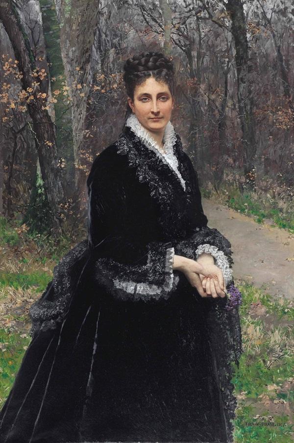 Баронесса Маргерит Берну де Роштелле де Дампьер.