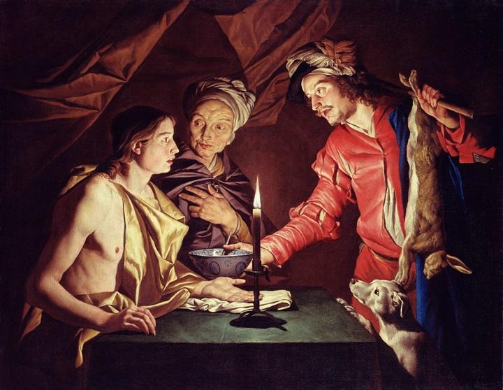 Исав и Иаков.