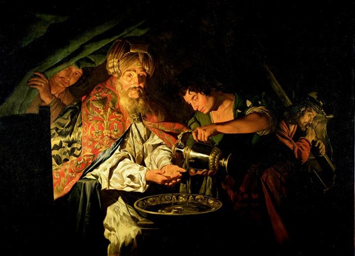 Пилат умывает руки.