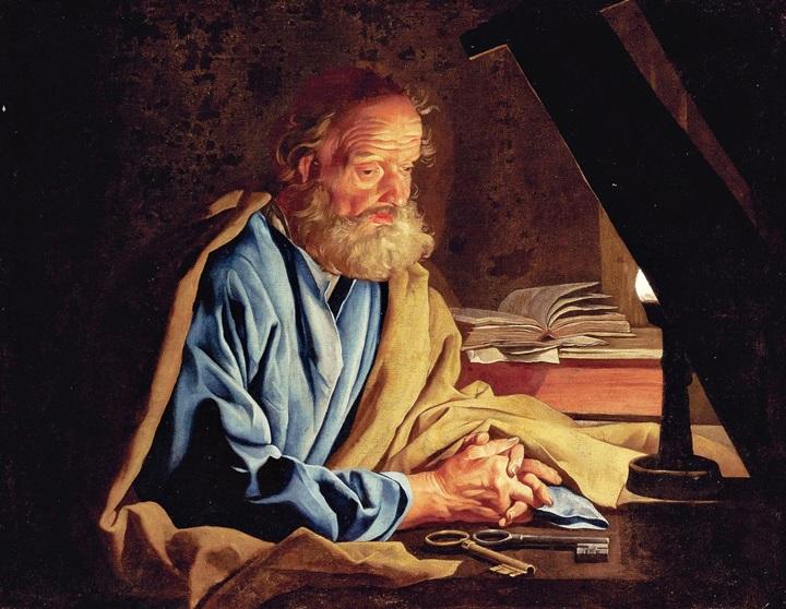 Святой Петр в темнице.