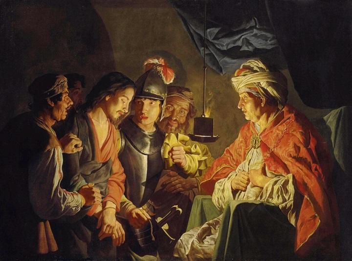 Христос перед Пилатом.