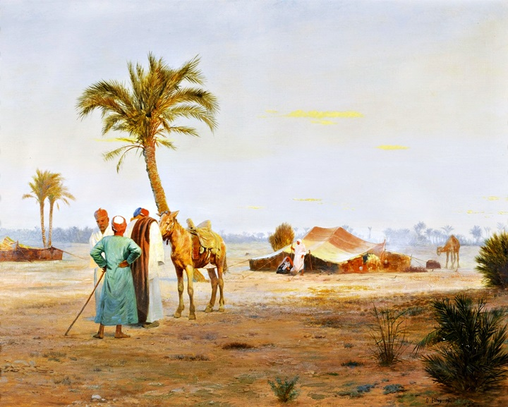 Оазис в пустыне.