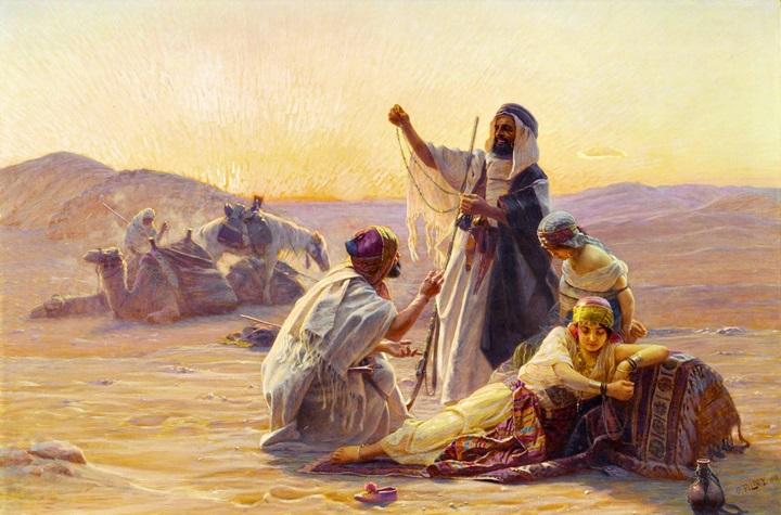 Торговля в пустыне.
