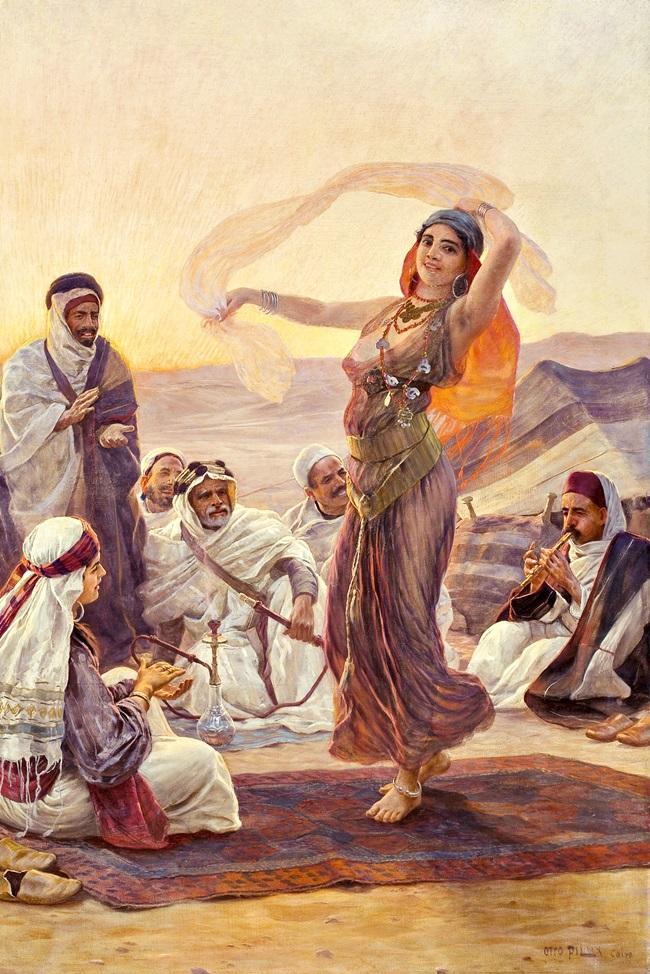 Танцовщица в Каире.
