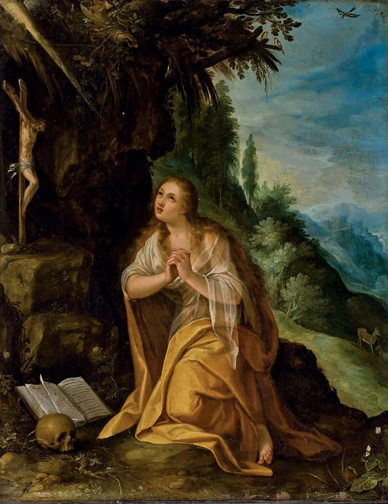 Кающаяся святая Мария Магдалина.