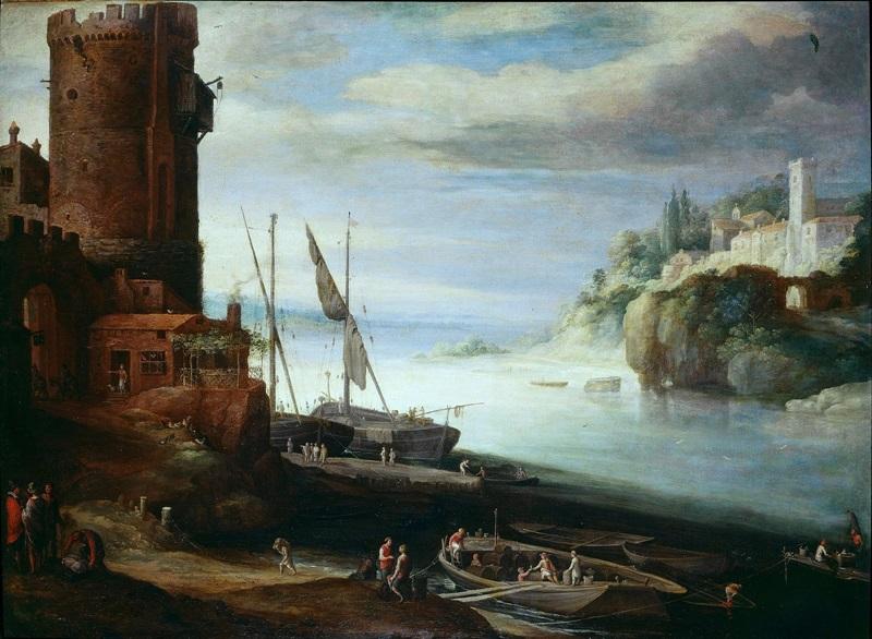 Вид порта.