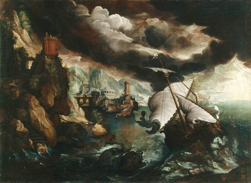Кораблекрушение с пророком Ионой.