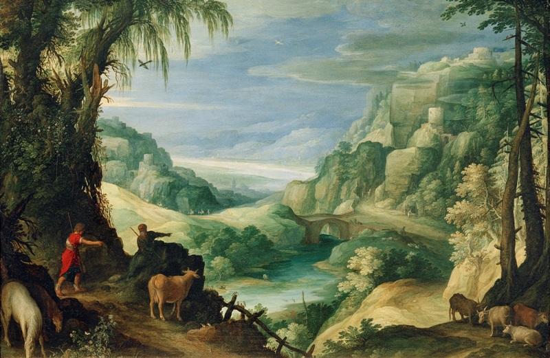 Пейзаж с Меркурием и Аргусом.