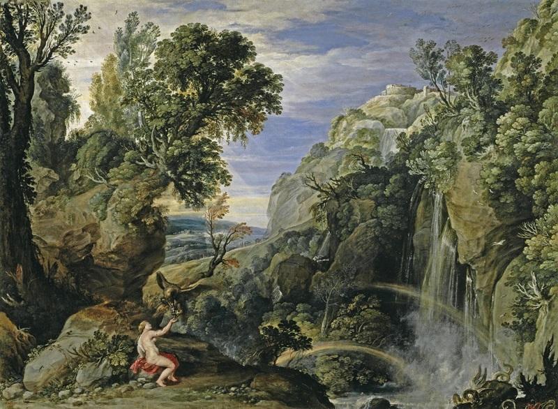 Пейзаж с Психеей и Юпитером.