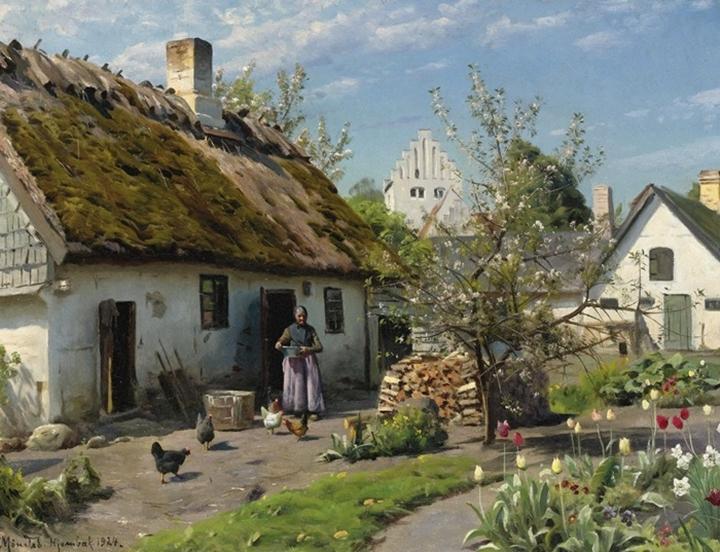 Весна в Йембеке
