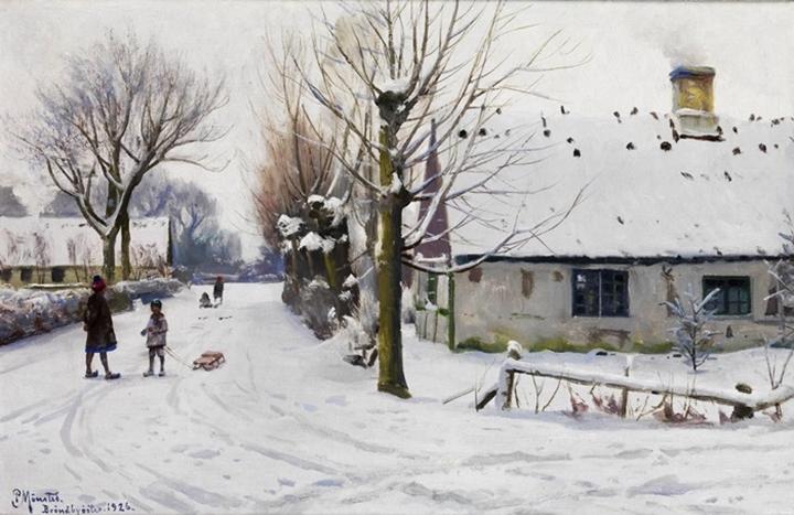 Зимний день в Брённбюёстере