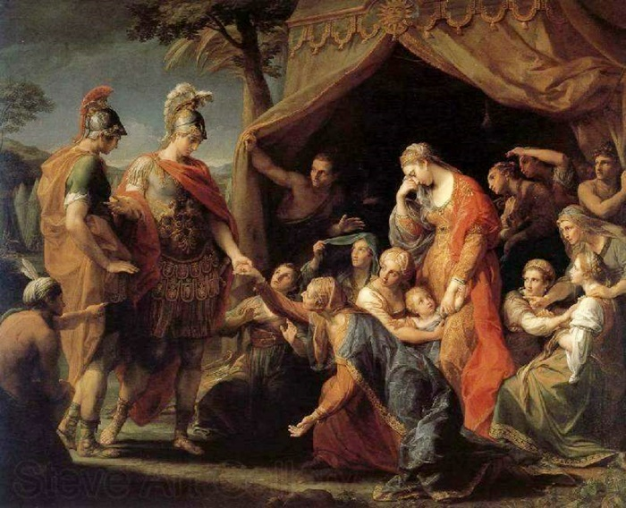 Александр и семья Дария.