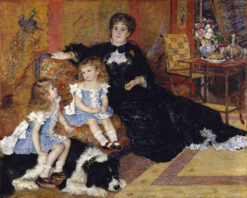 Портрет мадам Шарпантье с детьми