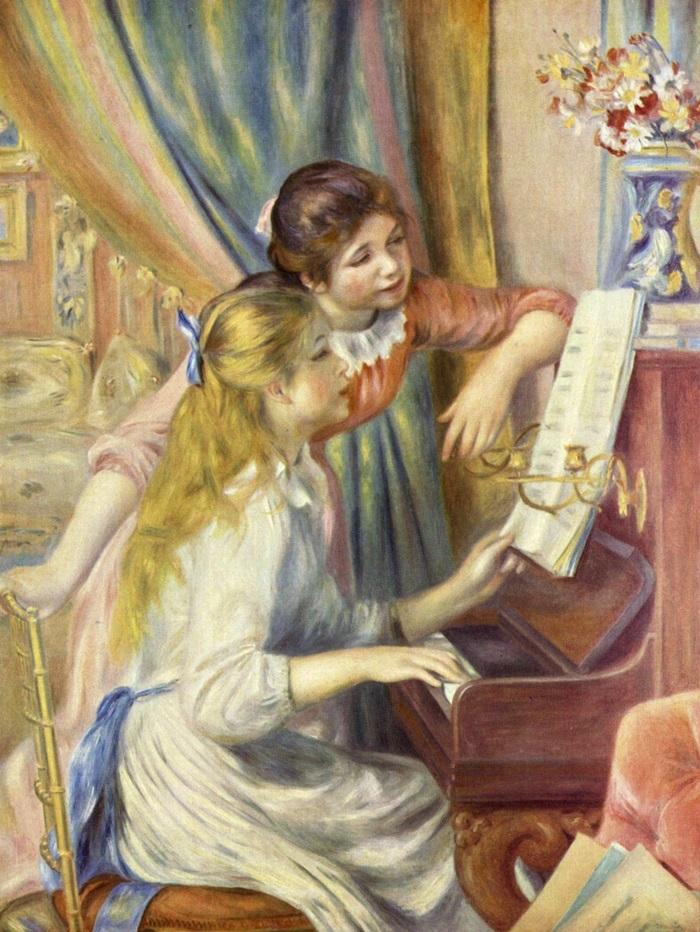 Девушки за фортепьяно