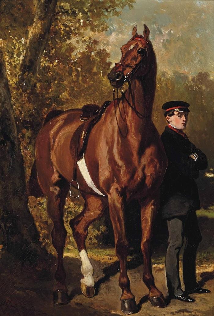 Жених с лошадью