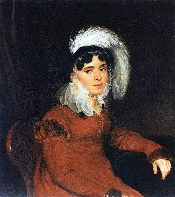 Портрет М. А. Кикиной.