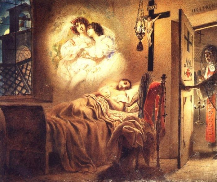 Сон монашенки.