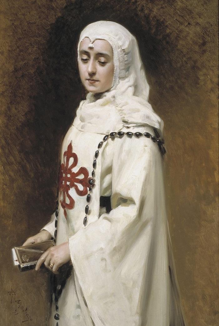 Актриса Мария Герреро в образе Доньи
