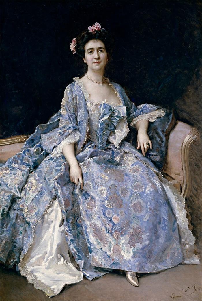 Портрет Марии Хан, жены художника