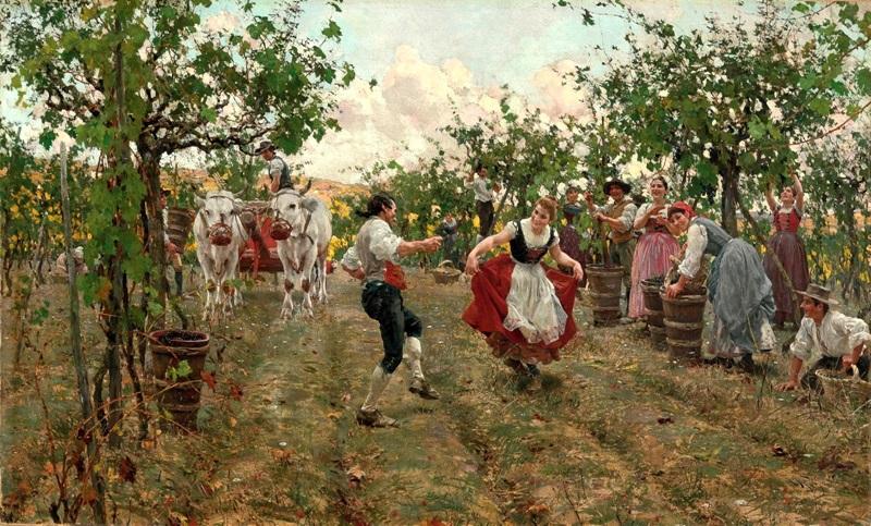 Танец урожая
