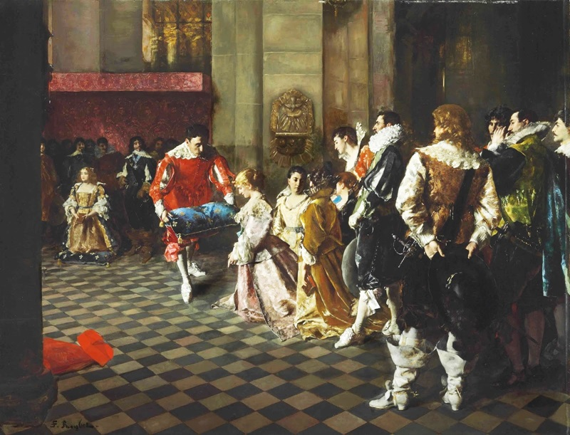 Молитва французского двора
