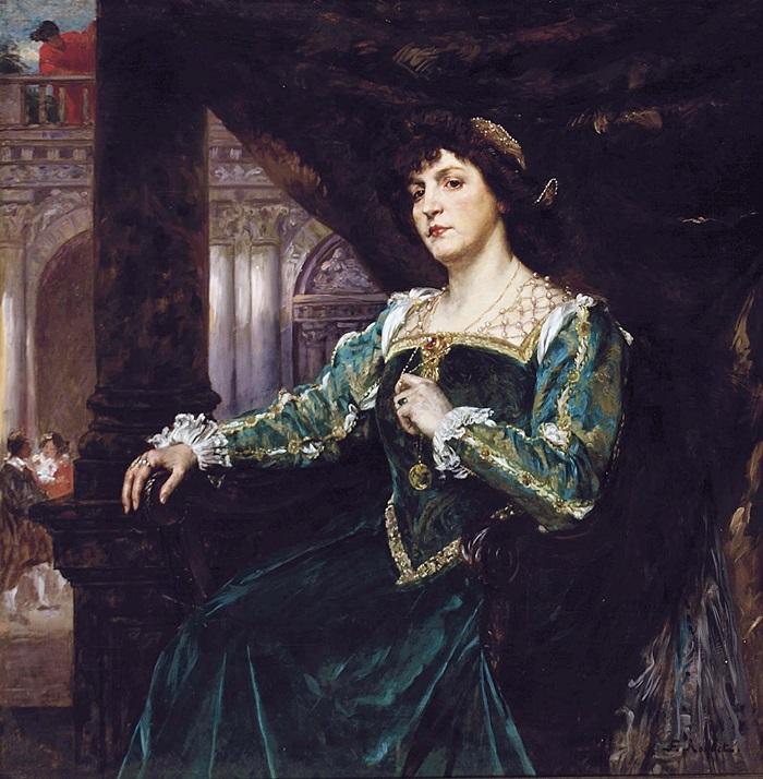 Портрет Марии Клемансо