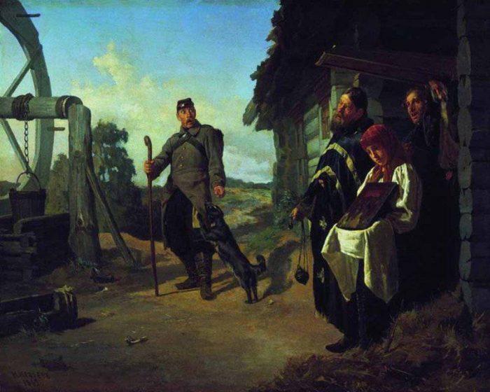 Возвращение солдата на родину