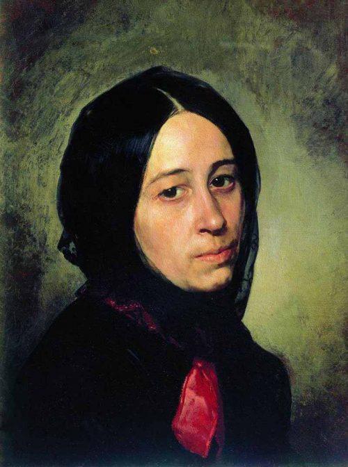 Портрет М.И. Третьяковой