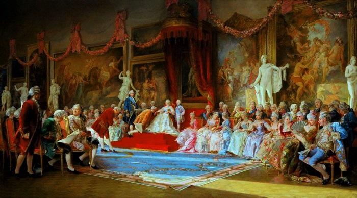 Первое торжественное собрание Академии художеств