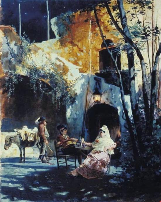 Дворик в Севилье