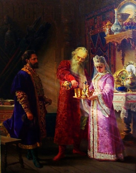 Князь Серебряный в гостях у боярина Морозова
