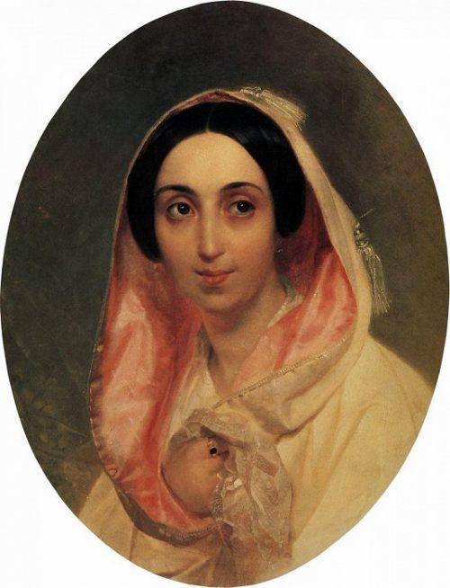 Портрет княгини А. А. Багратион.