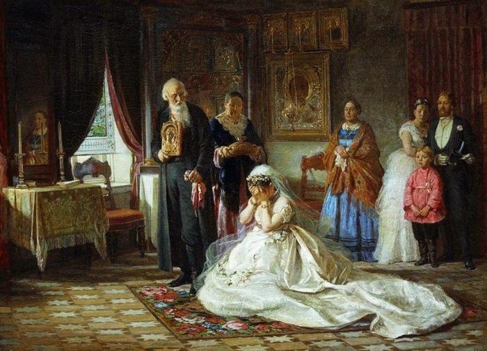 Перед венцом