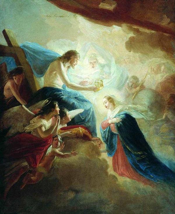 Венчание Пресвятой Богородицы