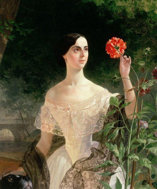 Портрет Софии Андреевны Шуваловой.