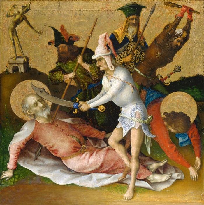 Мученичество святых Симона и Иуды Фаддея