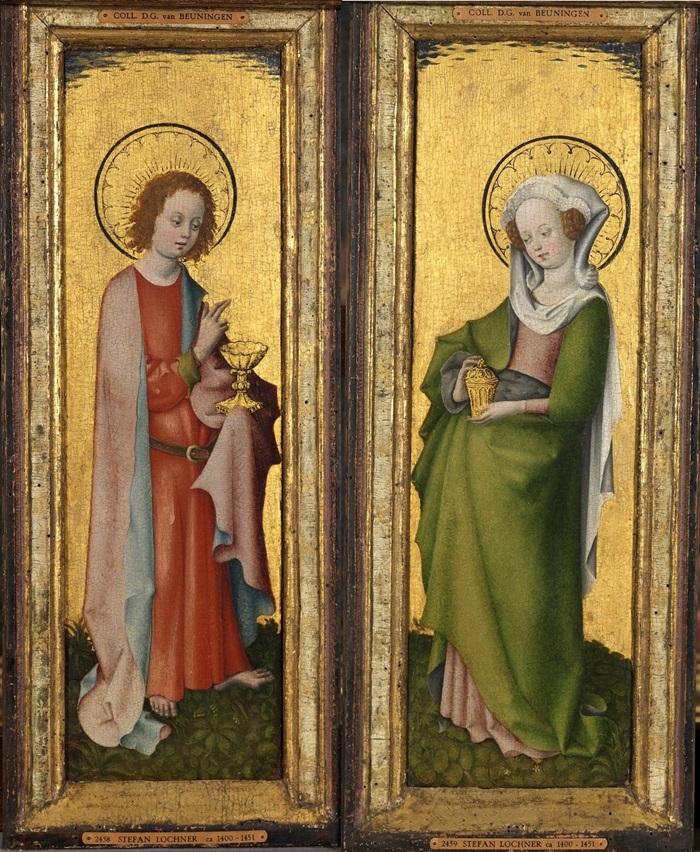 Сятой Иоанн Богослов + Святая Мария Магдалина