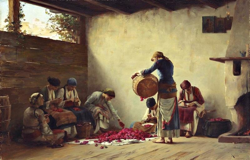 Варенье из роз в Мегаре
