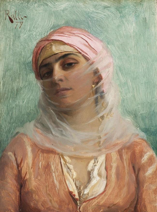 Молодая турчанка
